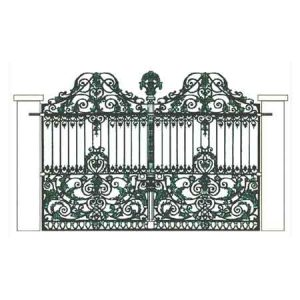 Cast Iron Gate - Design 2