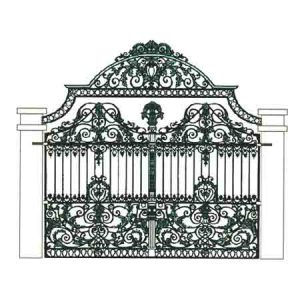 Cast Iron Gate - Design 3