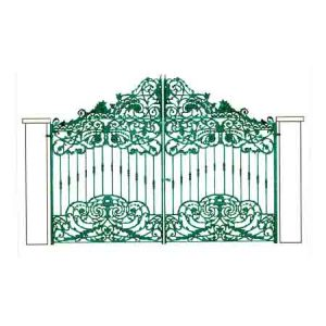 Cast Iron Gate - Design 4