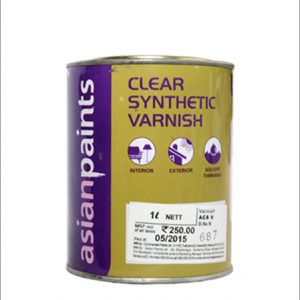 Clear Synthetic Varnish - 1 Ltr