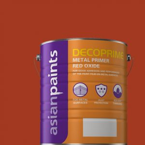 Decoprime Metal Primer - Red Oxide - 1 Ltr