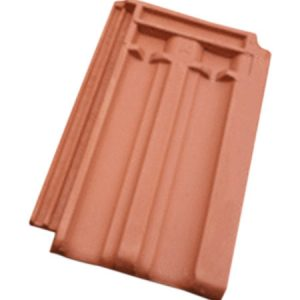 Double Groove Roofing Tiles - 16x10 inch