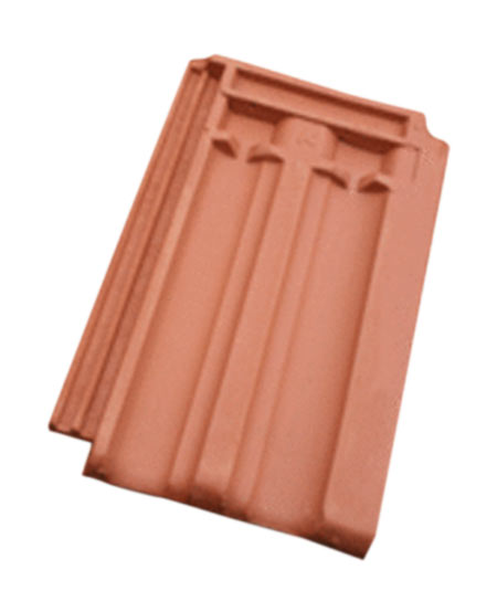 Double Groove Roofing Tiles - 9x6 inch