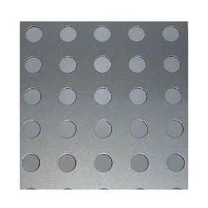 EN-100 Galvanized Iron Perforated Sheet - (1220x2440mm)