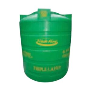 Moulded Vertical Overhead Tanks (10000Litres) - Green