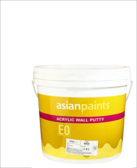 Acrylic Wall Putty - White- 10 Kgs