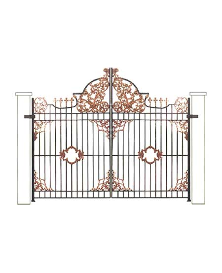 Cast Iron Gate - Design 1